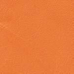 zapato piel color naranja